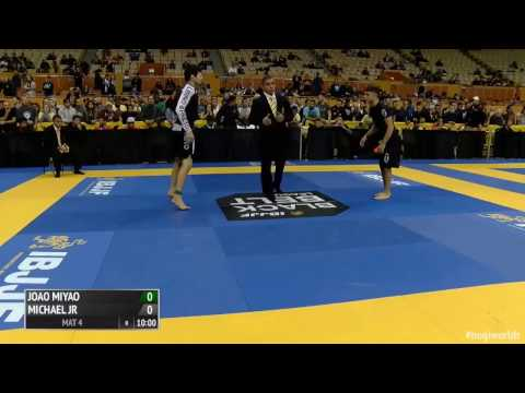 Mikey Musumeci vs Joao Miyao | 2016 Worlds Nogi | highlights