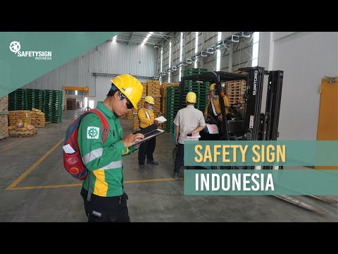 Safety Sign Indonesia