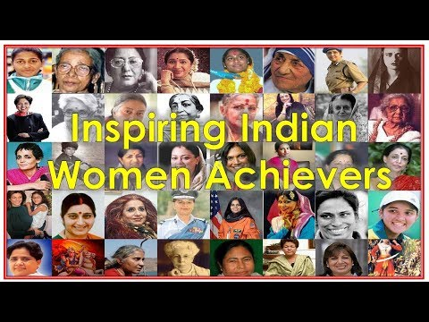 Inspiring Indian Women Achievers || Famous Women || India for Kids ||