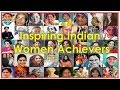 Inspiring Indian Women Achievers || Famous Women || India for Kids ||