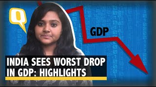 GDP Hits Record Low Due To COVID Impact: Key Highlights   The Quint