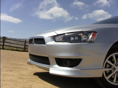 2012 Mitsubishi Lancer 2.4L AWD 0-60 MPH Drive and Review
