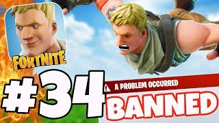 BANNED IN FORTNITE - Fortnite Gameplay #34 (iOS/Android)