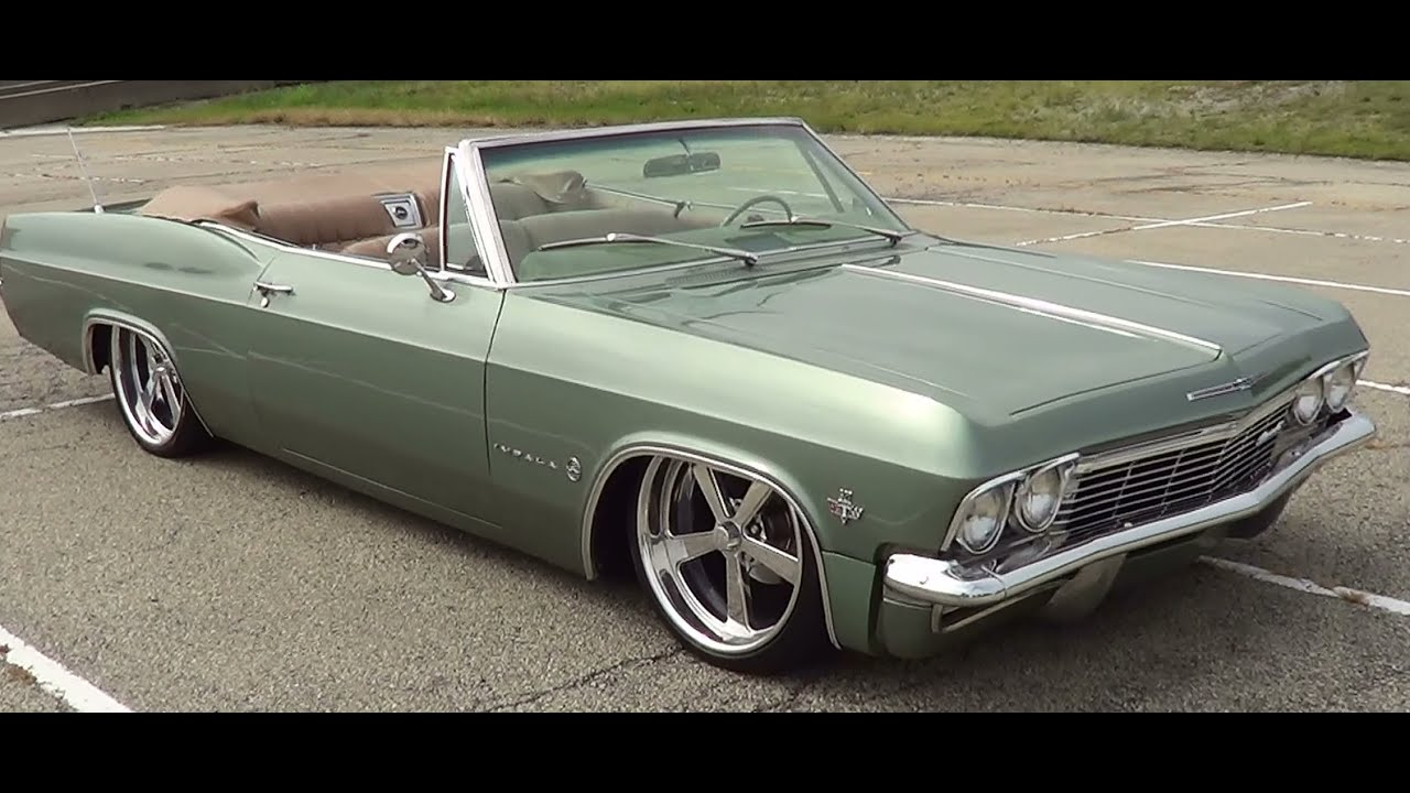 1965 Chevrolet Impala Convertible Youtube