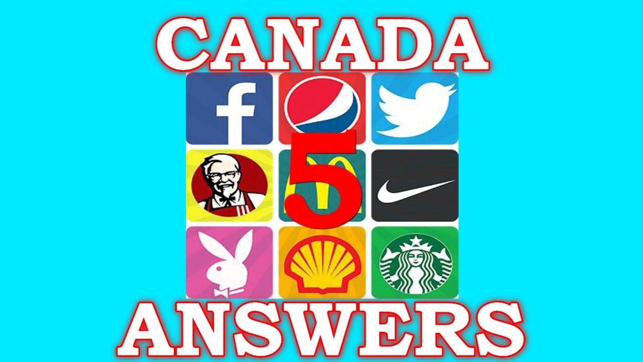 Logo Quiz World Canada Level 5 - All Answers - Walkthrough