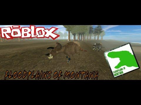 Roblox|Floodplains of Montana|Triceratops life!