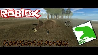 Roblox| Floodplains of Montana| Triceratops life!