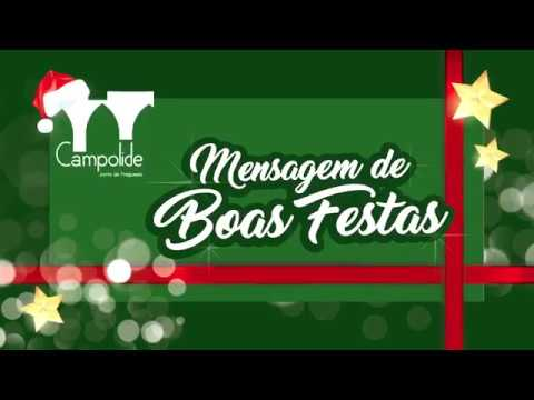 Mensagem de Boas Festas da Junta de Freguesia de Campolide.