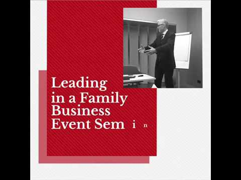 Leading in a family business