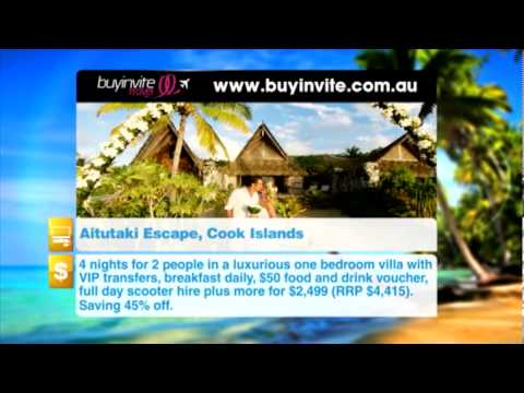Buyinvite Travel Deal: Tamanu Beach Resort Aitutaki, Cook Islands