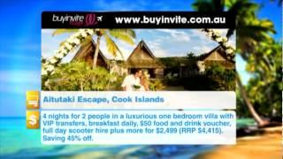 Buyinvite Travel Deal: Tamanu Beach Resort Aitutaki, Cook Islands Thumbnail