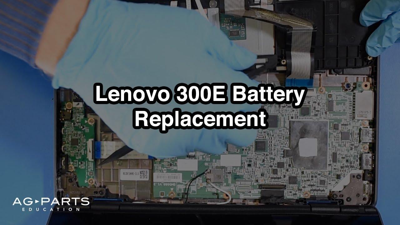 Lenovo 300E Chromebook Battery Replacement