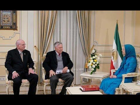Senior U.S. Lawmakers meet Maryam Rajavi