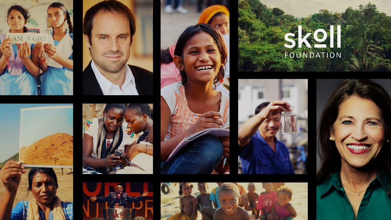 Skoll Foundation: Our History, Our Vision - YouTube