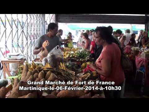 Un p'tit tour  à FORT DE FRANCE MARTINIQUE