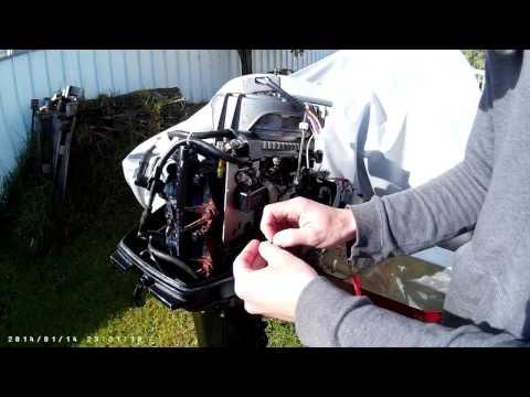 outboard motor hook up