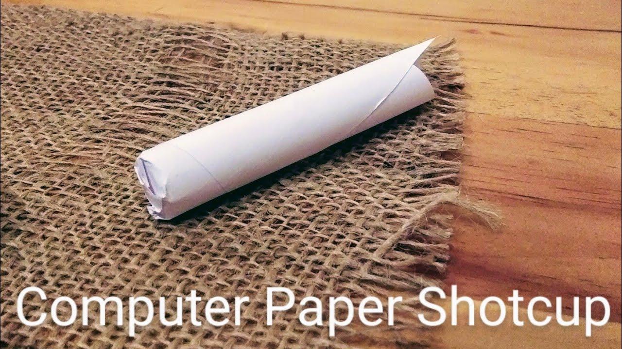 Download Paper Shotcup Test Smoothbore Flintlock