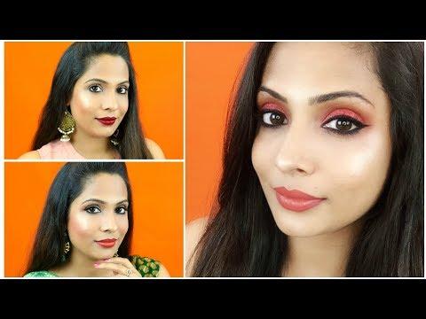 3 Easy & Glam Indian Makeup Looks For Diwali | Shruti Arjun Anand