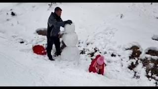 Achenkirch Winter 2018-2019 Tirol Österreich Achensee Drohne 4K