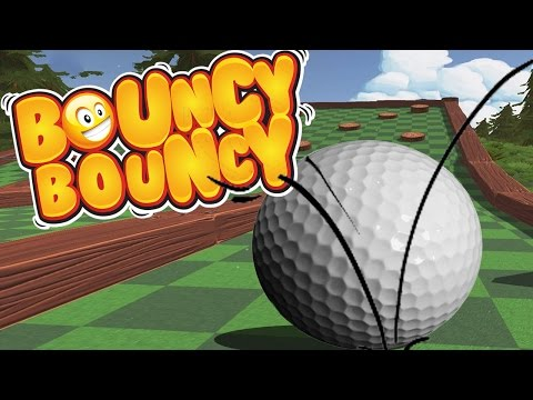 GOLF WITH INSANE BOUNCES IS HILARIOUS!!