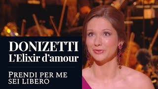 "DONIZETTI : The Elixir of Love ""Prendi per me sei libero"" (Hélène Carpentier) [HD]"