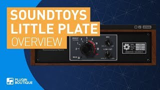 Little Plate by Soundtoys | The Best Plate Reverb of 2018?