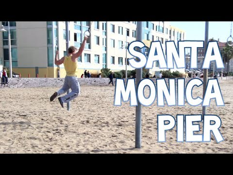 Workout With Ropes And Rings At The Santa Monica Pier | Furious Pete