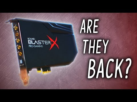 Sound Cards... ARE THEY BACK?! Meet the AE-5