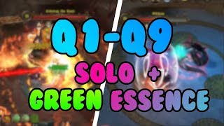 Drakensang online | All PW bosses inf3 | Solo DK | Green ess | R211