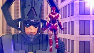 GALACTUS vs AVENGERS (Animated Marvel)