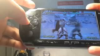 Нашел PSP, поиграли в Mortal Combat!