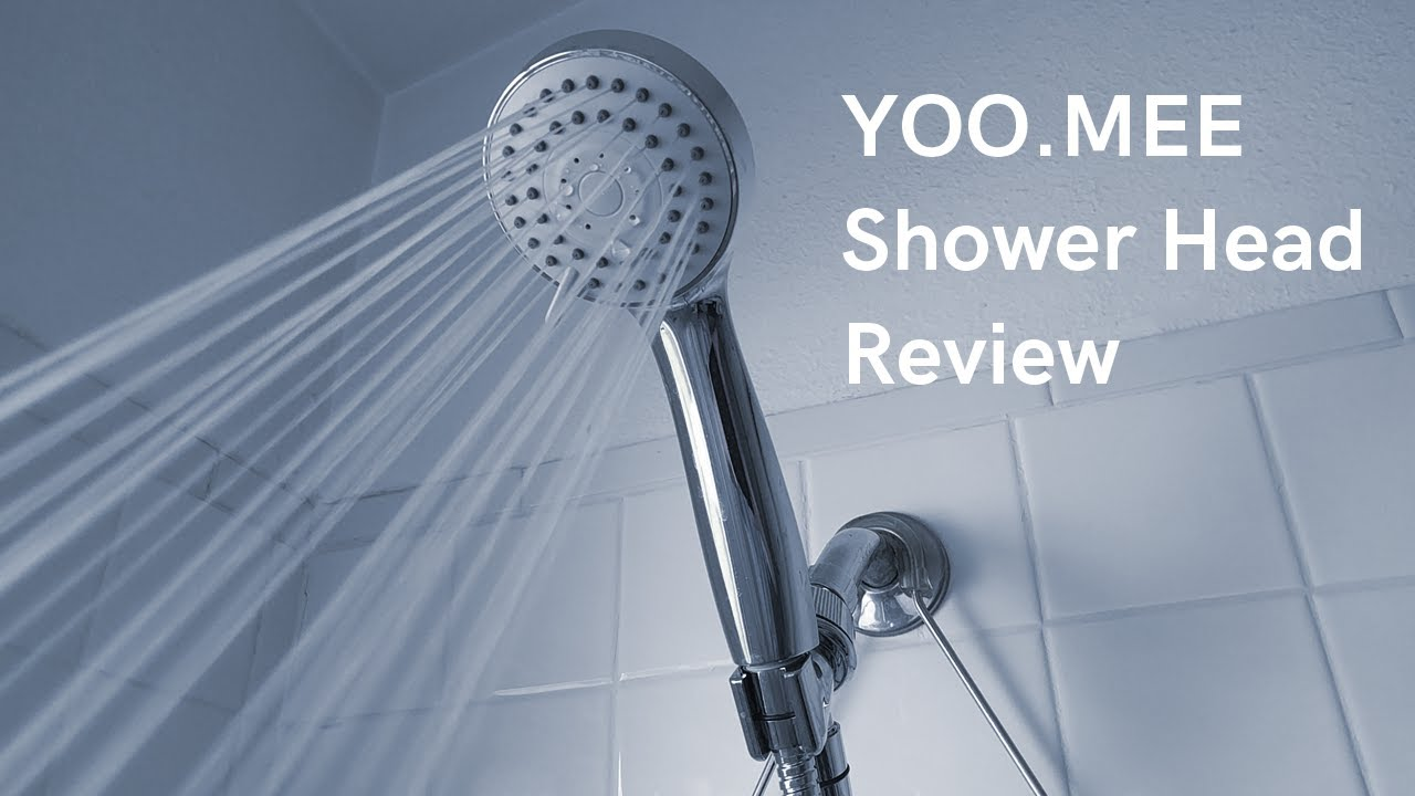 YOO.MEE High Pressure Handheld Shower Head Review & Unboxing ...