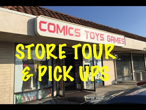 THE TOY ADDICTS TOY STORE TOUR in LA MESA, CA.  MAY 2016