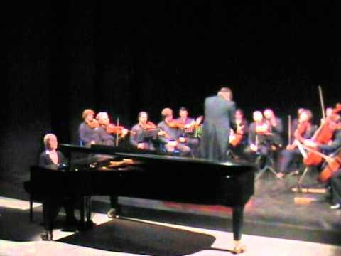 Mozart Concerto K 271 (primo tempo) Eliana Grasso - pianoforte, dirige il Maestro Carlo Amadesi