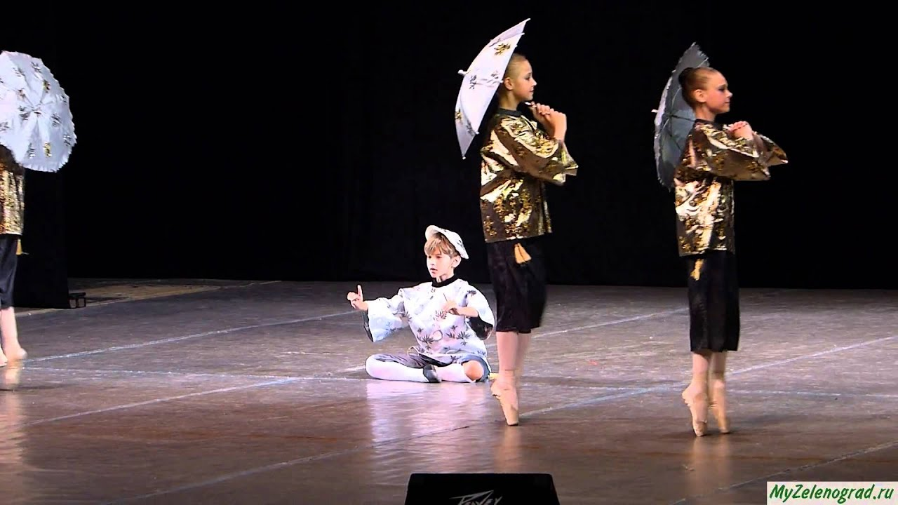 """П. И. Чайковский """"Китайский танец"""" из балета """"Щелкунчик"""" (хореография И. Бельского)"""