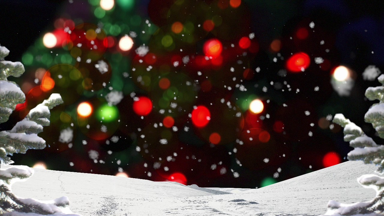 Free Christmas Worship Background Hd See Amid Winter Snow Youtube