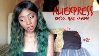 LESS THAN 200?! Aliexpress RECOOL Hair | review