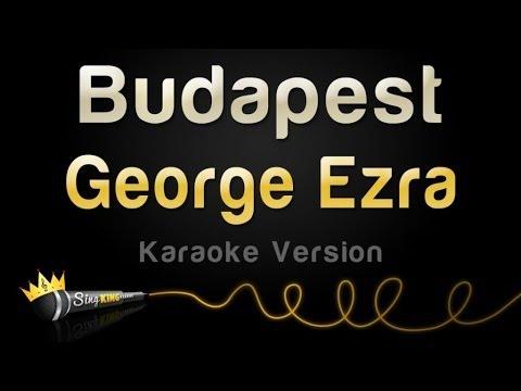 George Ezra - Budapest (Karaoke Version)