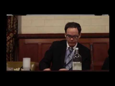 George Galloway with Max Keiser in Parliament