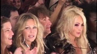 HEATHER LOCKLEAR and RICHIE SAMBORA reunite for daughter AVA's fashion show modeling -- 2010