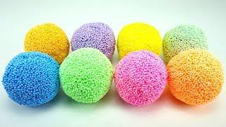 Сюрпризы из шарикового пластилина, игрушки для детей