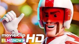 "TOY STORY 4 (2019) | ""Meet Duke Caboom & Forky"" 🏍️Clip   Disney Pixar Movie"