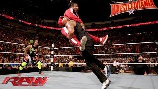 The Rock wird von The New Day unterbrochen: Raw, 25. Januar 2016