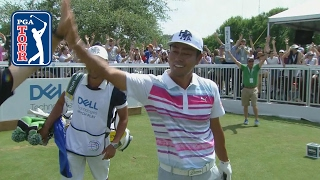 Hideto Tanihara plays it perfect for an ace at Dell Match Play
