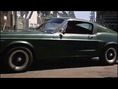 BULLITT car chase,  music MASTERPLAN : black in the burn