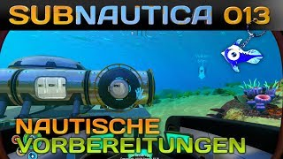 SUBNAUTICA [013] [Nautische Vorbereitungen] Let's Play Gameplay Deutsch German thumbnail