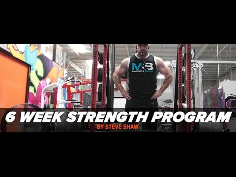 New Shaw 6 Week Strength Program