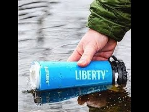 e1e6b394ca Lifesaver Liberty Water Filter Bottle- Review and Priming - YouTube