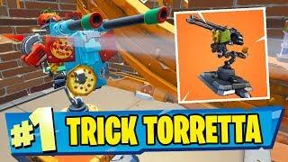 TRUCCO TORRETTA IN 1x1 - Fortnite Trick ITA