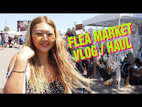 Melrose Trading Post Flea Market & Thrift Vlog and Haul